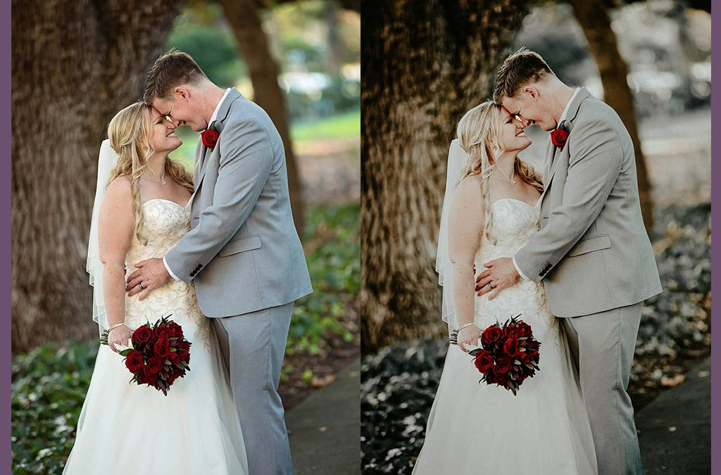 Filterless Wedding Photography