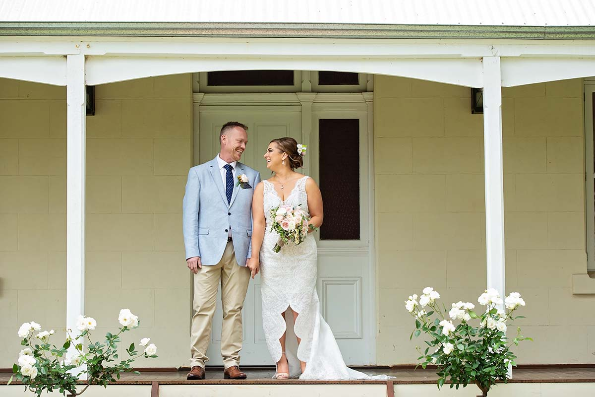 Wedding Photography Perth Mandoon Estate Bride and Groom at Arthouse