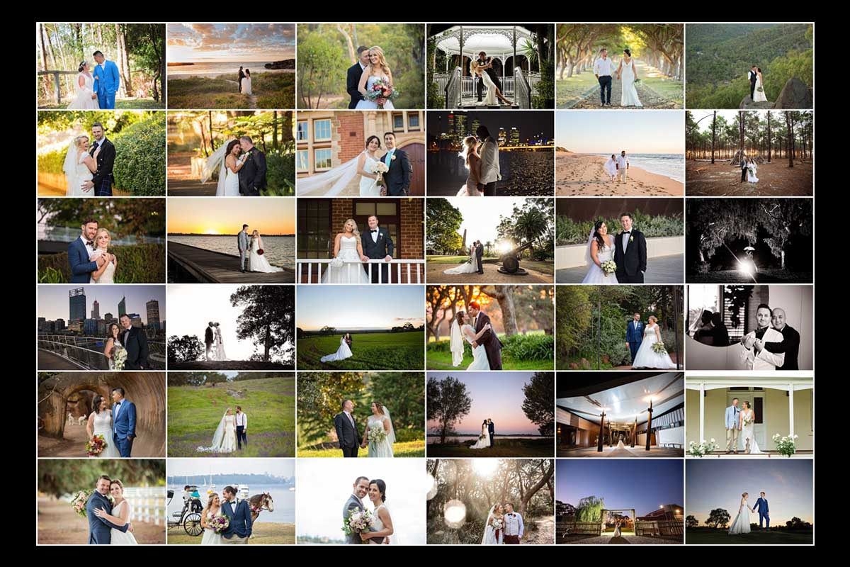 2018 bride and grooms