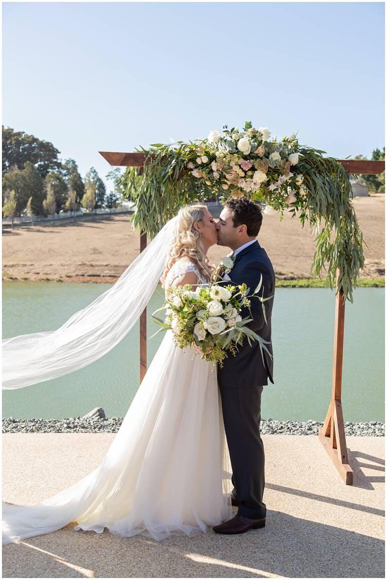 Quarry Farm Terrace Wedding