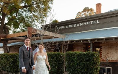 Rose and Crown Winter Wedding