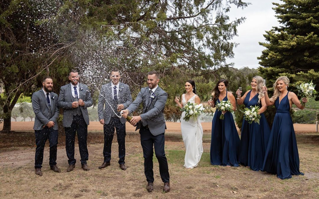 Rustico Hay Shed Hill Wedding
