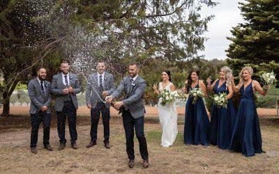Rustico Hay Shed Hill Wedding
