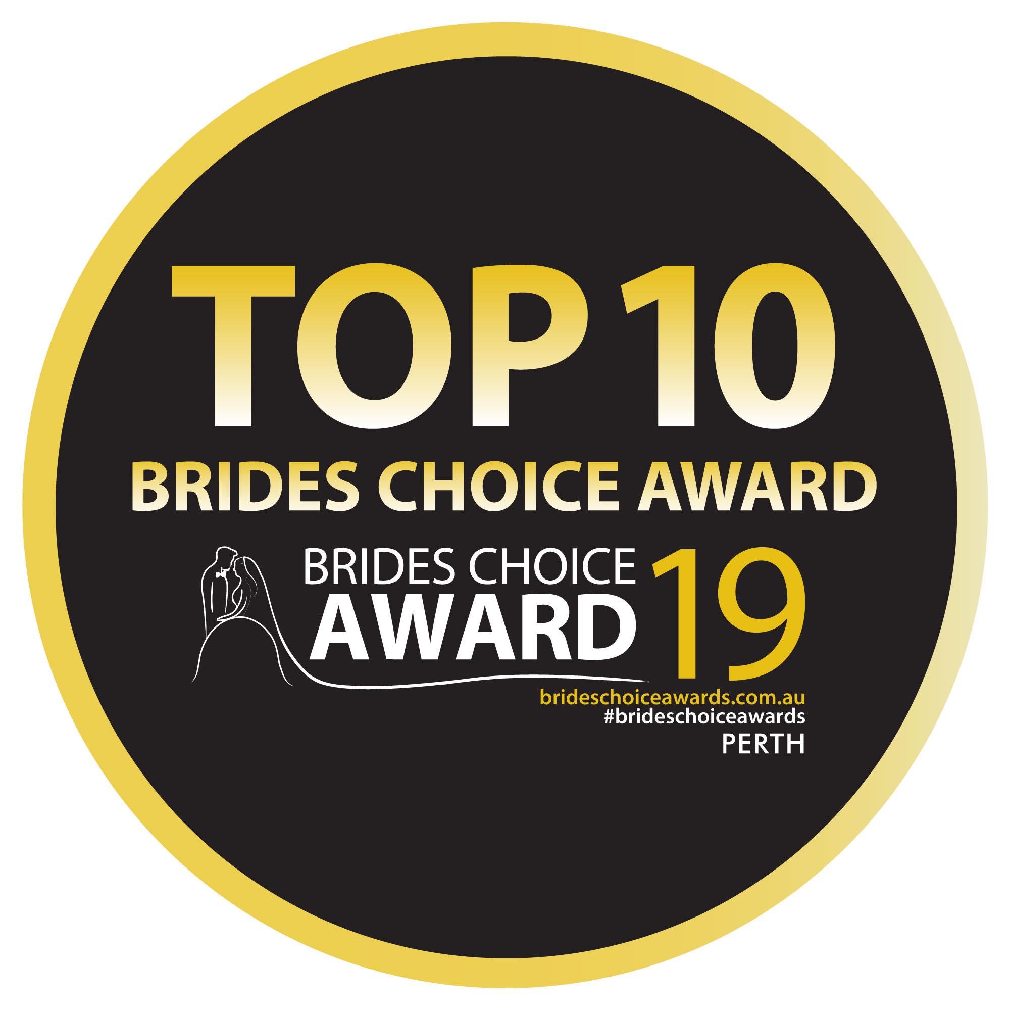 Brides choice award 2019