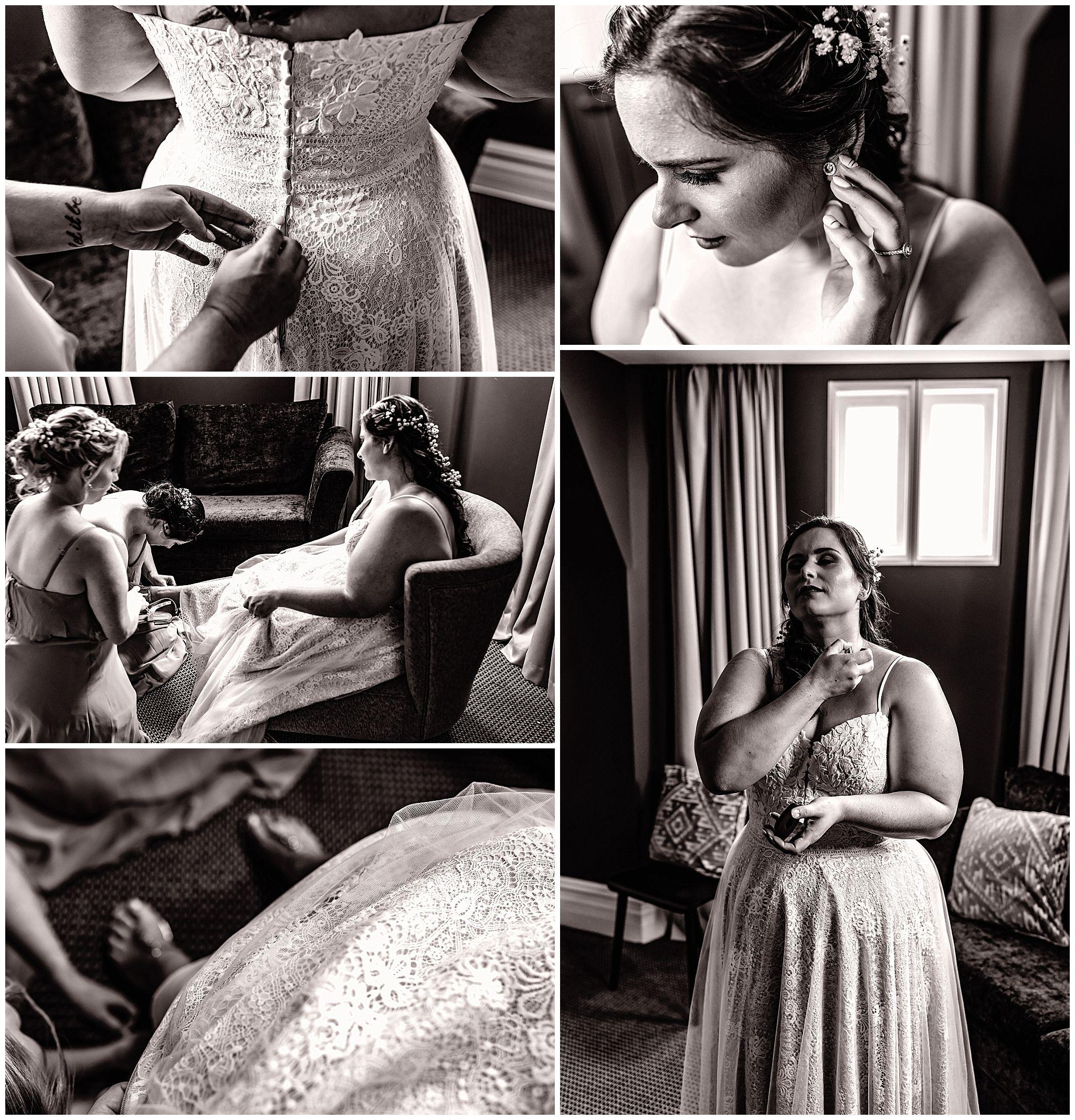 Wedding Preparations The National Hotel Fremantle Bride