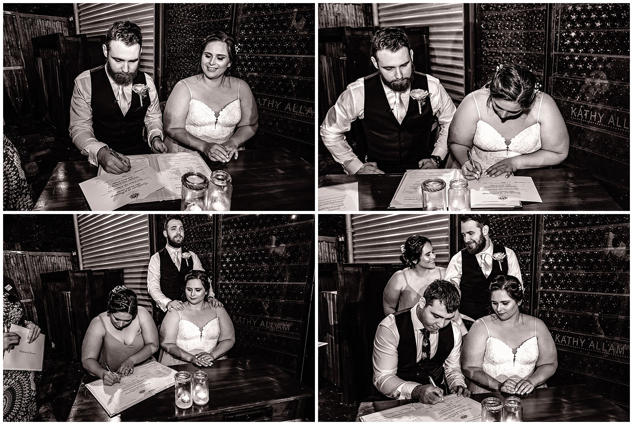 Wedding Ceremony Moore & Moore Cafe Fremantle