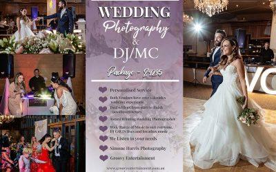 Perth Wedding Photography & DJ MC Package